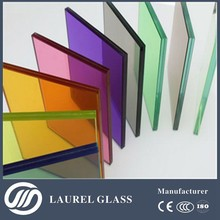 1.5~25mm processed glass( tempered glass / toughened glass/ PVB laminated glass) with CE and ISO9001
