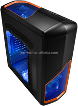New design 0.50mm SPCC Material Gaming PC Case with 30MB/second USB