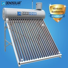 2015 Most Popular Low Pressure Vacuum Tube Solar Water Heater For Home Use