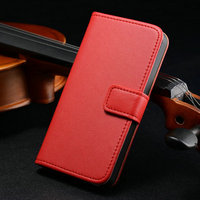 FREE SHIPPING 500 pcs/lot for Iphone 5 5S high quality second layer leather wallet case cover