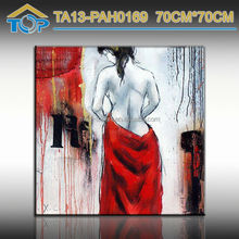 Best selling nude sexy Girl Framed photo oil paintings for home