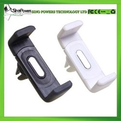 Mini 360 degree rotating universal car air vent mobile phone holder for 3.5-5.0 inch mobile and GPS