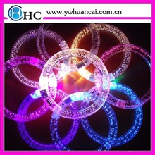 Party decoration led light glow in dark bracelet,fashion bracelets 2015