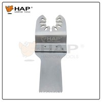 Stainless steel wood cutting oscillating blade