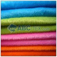 100% polyester plain dying velboa/velour fabric(color sample)