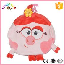 Hot Kids New Design Plush Pink Pig Zoo Backpack Promotion Bag