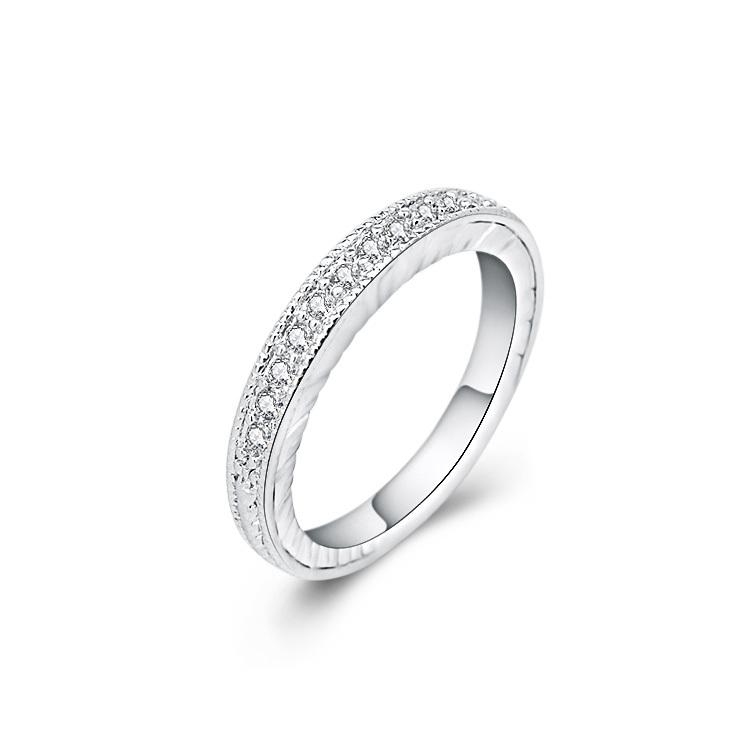 2015 Wholesale Silver Diamond Engagement Ring Price For Women Buy Engagemen