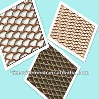 decorative copper expandable fence metal sheet steel mesh