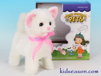 ELECTRONIC SOUNDS CONTROL PLUSH CAT WITH ACTION