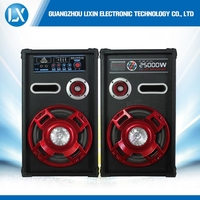 10 inch powered portable active loud speaker system