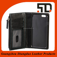 Manufacturer Quality Service Leather Card Holder Phone Case