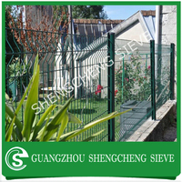 Heavy duty galvanized steel fence panels for flower gardens