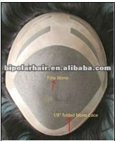 Fast shipping cheap hairpiece mens toupee for black men