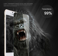 Manufacture Price 5.5 inch 9H 2.5D Clear Temper Glass Screen Protector for iPhone 6 Plus