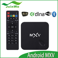 MXV Android TV Box Quad Core MXV Amlogic S805 1G/8G GPU Mali450 KODI Media Player Smart MXV Google TV
