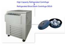 High Capacity Refrigerated Centrifuge & Refrigerated Blood Bank Centrifuge DDL6