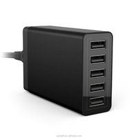Multi Micro USB Portable cell phone adapter 5 ports usb wall Charger for smartphones and tablets
