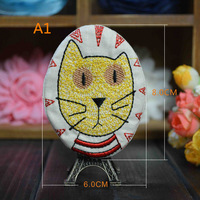 fashion brooches for kids suits character and cat shape brooches hand made cloth pins for bags clothing