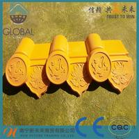 big discount roof tile size with high quality