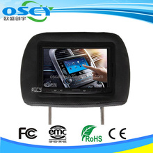 """7"""" TFT LCD 2-Channel Color Car Rear View Monitor Auto Adjust Wireless Camera Kit"""