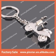 Creative motorbiker keychain fashion madam woman style 3D Motorcycle keyring