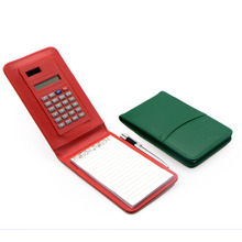 PN PVC Personal Calculator Notebook with Pen
