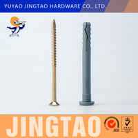 wholesale alibaba plastic mushrooms ground screw pole anchor spike for fence