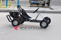 Low price 168cc single seats go kart
