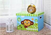 Best price cardboard flat packaging folding storage box,apparel storage paper box with lid wholesale LR1203