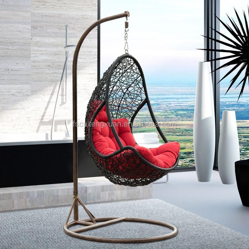 Indoor rattan wicker hanging egg chair egg jpg