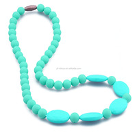 FDA Soft Silicone Teething Beads For Jewelry
