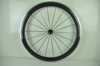 700C 50mm depth carbon fiber Road bike accessories wheel cycling with 3K/12K/UD matte or glossy finish