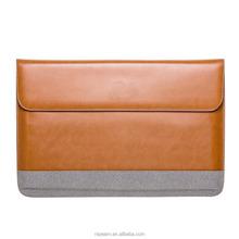Custom Pattern Notebook Bag Pu Leather Laptop Sleeve