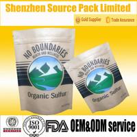 Natural Kraft Paper Bag for Organic Sulfur