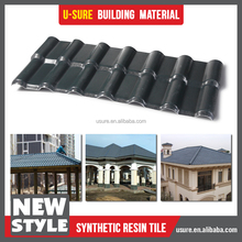 balcony roof / colorful plastic roof cover / nipa huts vinyl roof panel