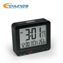 Unique digital Auto Night Light Temperature Alarm Clock