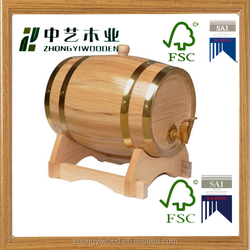 high quality handmade custom cheap oak decorative mini wooden barrels for sale,wooden whiskey barrels for sale