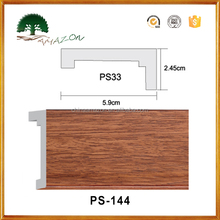 Fire Proof Elegant Polystyrene PS Chair Rail Moulding