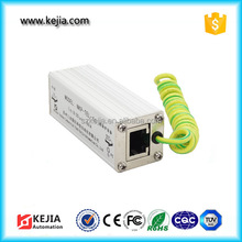 KEJIA Wholesale DIN Rail RJ45 Network Signal Surge Protector/Lighitng Protection Devices for Router/Telcom