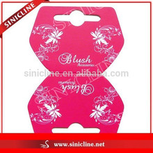 Sinicline Necklace Card Earring Card Jewelry Tag Display