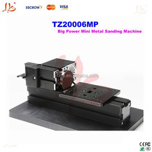 Small cnc lathe TZ20006MP Big Power Mini Metal Sanding machine for wood medal crafts