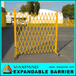 Galvanized Metal Safety Retractable Pool Fence