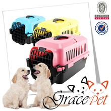 IATA plastic transport boxes for dogs / dog carrier