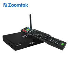 zoomtak M5 Smart Android TV Box Amlogic S805 Quad core android 4.4 streaming box with XBMC, skype, H.265 decoding