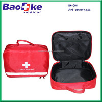 New Wholesale Professional First Aid Kit Bag Treatment Pack Travel Car Sport Rescue Medical Tools Emergency Survival Outdoor