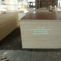 Cherry cheap double sides cheap melamine MDF + plywood sale