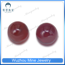 wuzhou new sphere gems garnet rough natural stone beads