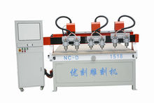 NC-D1313 hot sale multi heads woodworking cnc router