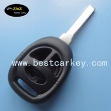 High quality 3 button remote key fob covers for key saab blank key blank for saab