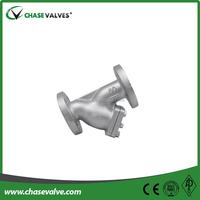 API casting steel y strainer flanged RF
